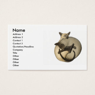 Yin Yang Cats Profile Card