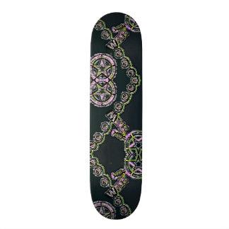 Yin Yang Chalk Element War Custom Pro Park Board Skateboard Decks