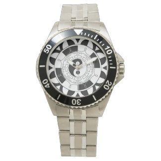 Yin Yang Classic Stainless Steel Watch