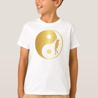 Yin & Yang Climber (gold) T-Shirt