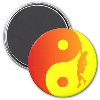 Yin & Yang Climber (Sunburst) Magnet