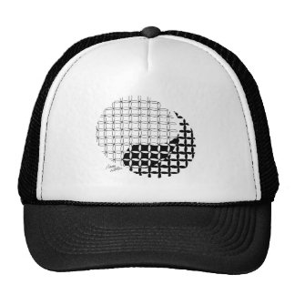 Yin Yang Design with a blended twist Trucker Hat