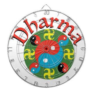 Yin Yang Dharma Dartboard
