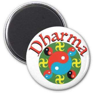 Yin Yang Dharma Magnet