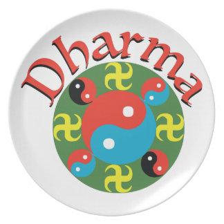 Yin Yang Dharma Party Plates