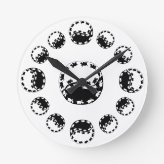 yin yang donkey clock