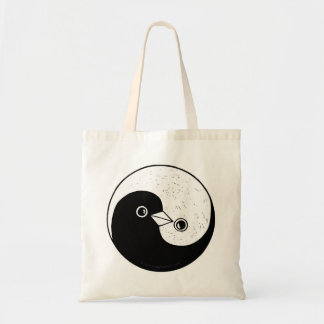 Yin Yang doves peace Tote bag