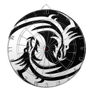 Yin Yang Dragon Dartboards