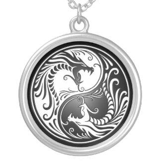 Yin Yang Dragons Pendants