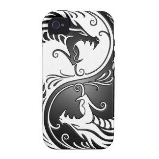 Yin Yang Dragons Vibe iPhone 4 Cases