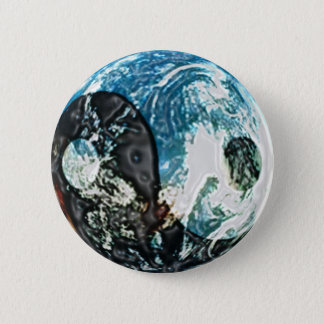 Yin Yang Earth Button