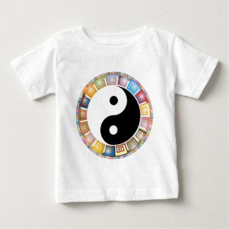 yin yang eastern asian philosophy baby T-Shirt