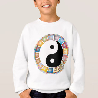 yin yang eastern asian philosophy sweatshirt