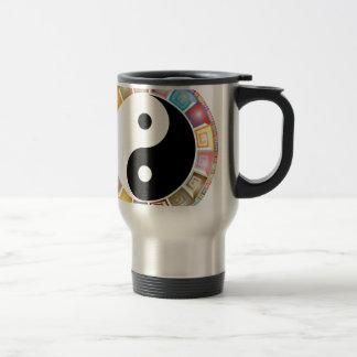 yin yang eastern asian philosophy travel mug
