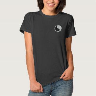 Yin Yang Embroidered Polo Shirt