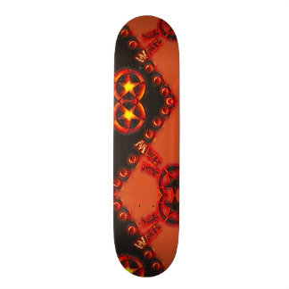 Yin Yang Fire Element War Custom Pro Board Skateboards