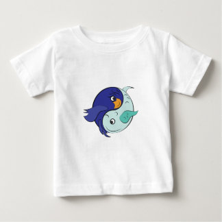 Yin Yang Fish Baby T-Shirt