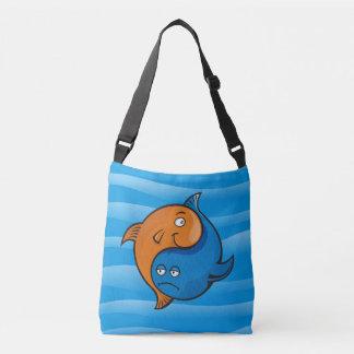 Yin Yang Fish Cartoon Crossbody Bag