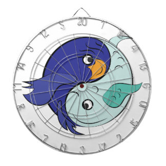 Yin Yang Fish Dartboard