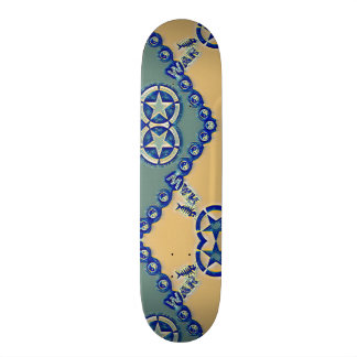 Yin Yang Great Wave Element Custom Pro Park Board Skateboard Decks