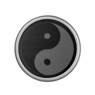 Yin Yang - grey 1 Bluetooth Speaker