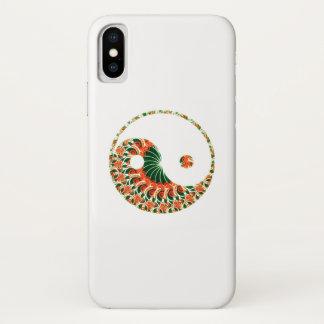 Yin yang in exciting mandala swirl Case-Mate iPhone case