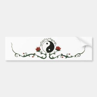 Yin Yang In Nature Bumper Sticker
