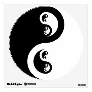 Yin Yang Infinity - Water Wall Sticker
