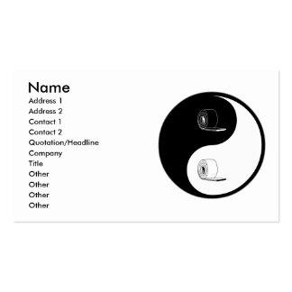 Yin Yang Insulation Business Card Template