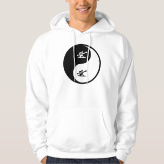 Yin Yang Kayaking Hoodie