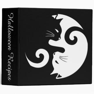 Yin Yang Kitties Binder