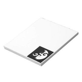 Yin Yang Kitties Notepad