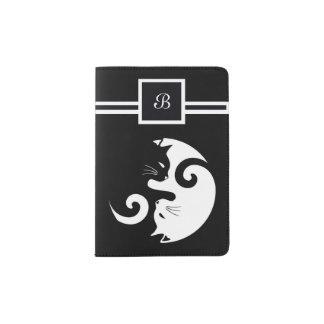 Yin Yang Kitties Passport Holder