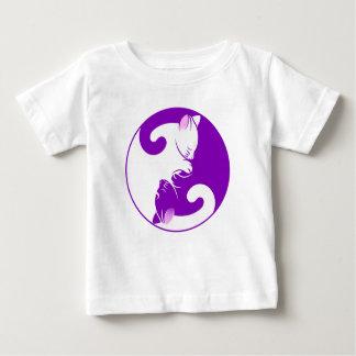 Yin Yang Kitty Baby T-Shirt
