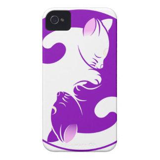 Yin Yang Kitty iPhone 4 Case-Mate Case