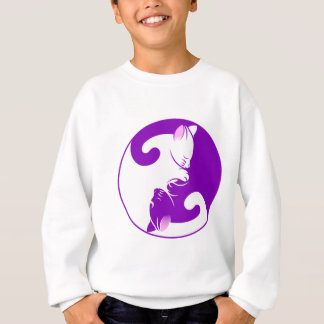 Yin Yang Kitty Sweatshirt