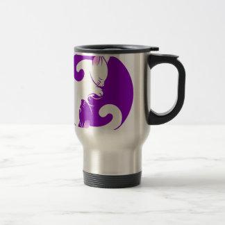Yin Yang Kitty Travel Mug