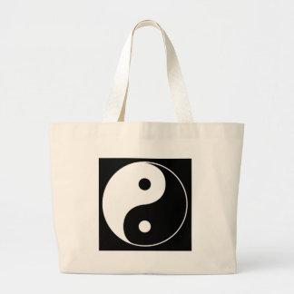 Yin Yang Large Tote Bag