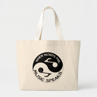 Yin Yang Large Tote Bag