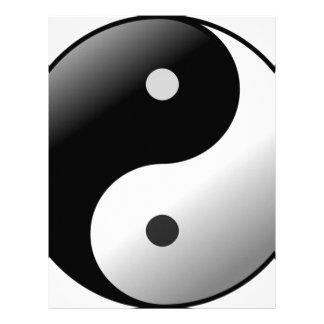Yin Yang Letterhead