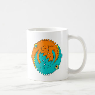 Yin Yang Lizards Coffee Mug