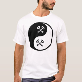Yin Yang Locks and Keys T-Shirt
