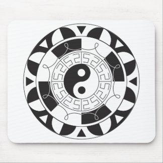 Yin Yang Madolin Mouse Pad