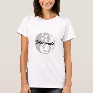 yin yang malamute T-Shirt