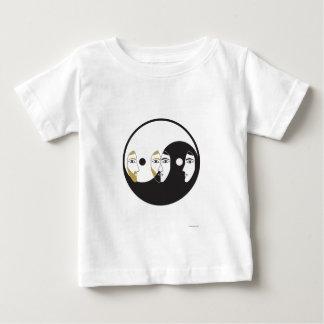 Yin Yang Man Woman Baby T-Shirt