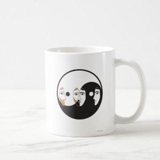 Yin Yang Man Woman Coffee Mug
