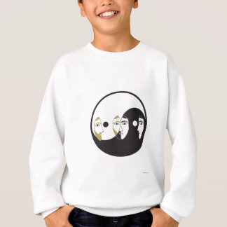 Yin Yang Man Woman Sweatshirt