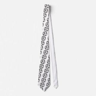 Yin Yang Mandela Tie