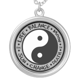 Yin & Yang Meanings Necklace