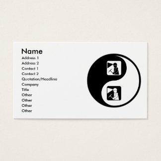 Yin Yang Mining Business Card
